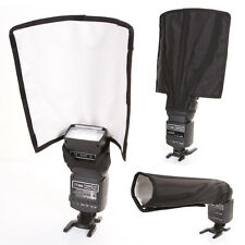 Foldable Universal Flash Diffuser Speedlite Strobe Snoot Beam Reflector Lambency