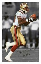 JERRY RICE - SAN FRANCISCO 49ERS AUTOGRAPHED SIGNED A4 PP POSTER PHOTO