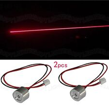 2pcs High quality 100mW 650nm red laser diode module+ free 2pcs TTL driver board