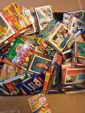 BIG LOT OF OLD UNOPENED Hockey CARDS FACTORY SEALED PACKS Wayne Gretzky Vintage