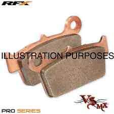 RFX PRO Series REAR Brake Pads HONDA CR125 & CR250 87-01 SINTERED COPPER RACING