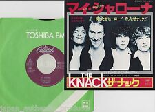 """Free Shipping/The Knack MY SHARONA, LET ME OUT/Japan press 7"""" vinyl"""