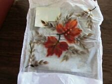 Yankee Candle  Jar Base Holder  Autumn Leaves  Plate Tray  NEW