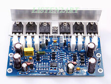 1pc L25 500W 4ohm KTB817 KTD1047 2SA1186 2SC2837 Assembled Mono Amplifier Board