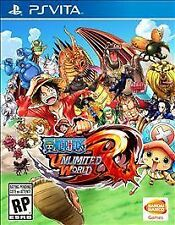 One Piece: Unlimited World Red (Sony PlayStation Vita, 2014) New, Download DLC