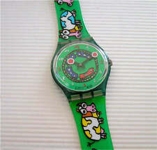 CRAZY TRAIN! Cows & Train ART Swatch By A CHRISTEN! NIB-RARE!