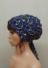 Jewish Tichel, Women's Headscarf, Hair Loss Bonnet, Chemo Head Wraps, Alopecia