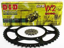 Honda XR400 1996-2004  VX2 Chain and Sprocket Set