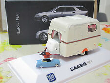 SAABO Saab Caravan 1964 1/43 Editions ATLAS