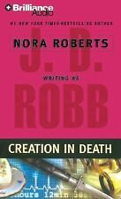 J.D. Robb Creation In Death Audio Book on CD  Nora Roberts