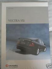 Vauxhall Vectra SXi brochure 1999