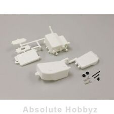 Kyosho MP9 TKI3 Battery & Receiver Box Set (White) - KYOIFF001W