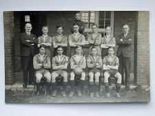 SWINDON FOOTBALL calcio 1937 1938 old postcard cartolina fotografica England