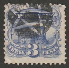 KAPPYSSTAMPS 5605 US SCOTT 114 USED NEGATIVE STAR FANCY CANCEL