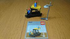 TOP: LEGO 12V 7821  Reparatu - Waggon mit 1a OBA  / Repair Wagon +1a instruction