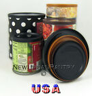 PANTRY LIDS. Reusable Plastic Tin Can Covers/Couvercles for canned food. 4 Sizes