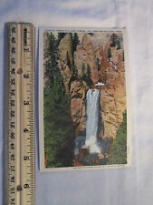Vintage postcard Tower Fall and Towers Yellowstone National Park 38279
