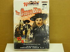 THE CISCO KID - 2 DVD SET - Factory Sealed - COLOR - 296 Minutes - 12 Episodes -