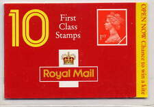 GB 1994 10 x 1st CLASS BARCODE BOOKLET HD14