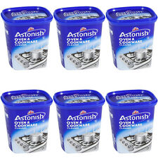 6 x Astonish Oven Cookware Cleaning Paste 500g (Hob, pans, tile, grease cleaner)