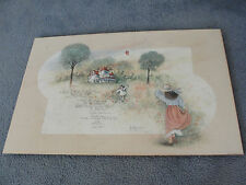 A Bit Old Fashioned-Original Limited Edition Signed 1997 Art Print by D.MORGAN.
