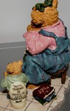 Boyds Bears, Momma Taylor, Patience, toilet, Potty training, Mother #227797 NIB