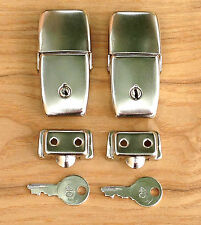 Craven Pannier / Topbox Top Box Type Locks - Vintage Luggage