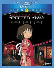 Spirited Away(2-Disc Blu-ray + DVD ComboPack) by Daveigh Chase (Format: Blu-ray)