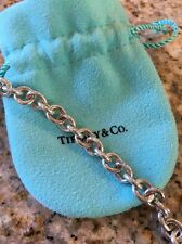 """Tiffany & Co Sterling Silver 16"""" Necklace with lobster claw clasp"""