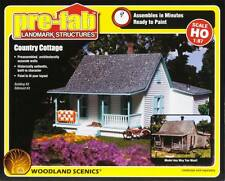 NEW Woodland Scenics Pre-Fab Country Cottage HO PF5186