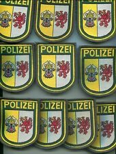 German POLICE Patches Lot of 10