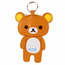 2015 RILAKKUMA BROWN BEAR PU KEYCHAIN COIN BAG RK09241