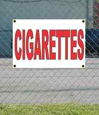 2x3 CIGARETTES Red & White Banner Sign NEW Discount Size & Price FREE SHIP