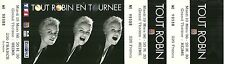 RARE / TICKET SPECTACLE COMIQUE CONCERT - MURIEL ROBIN A REIMS 1996 / COMME NEUF