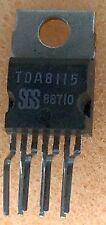 2 pcs. TDA8115  SGS  DUAL MOTOR DRIVER 2 x 1Amp. Heptawatt NOS