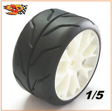 SP Sedan Racing Tires Pair rc car 1/5 grp pmt FG Harm Macatech  B Med 07115