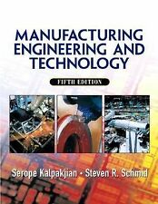 Manufacturing, Engineering & Technology 5th Edition