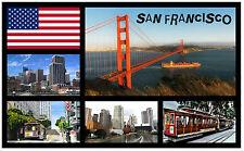 SAN FRANCISCO, USA - SOUVENIR NOVELTY FRIDGE MAGNET - NEW - GIFT