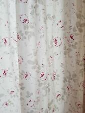 SIMPLY SHABBY CHIC Rachel Ashwell Cottage-Roses Curtain Panel Set 54-W-x-70-84L