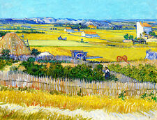 VAN GOGH Landscape canvas print giclee 8X12 reproduction of painting poster