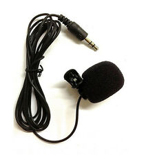 3.5mm clips on to your shirt Mini Microphones Skype VOIP gaming video conferece