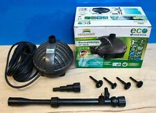 Garden Fish Pond Pump 1000ltr ECO Fountain Waterfall Submersible Outdoor New