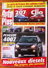 AUTO PLUS du 31/01/2006; Peugeot 4007/ BMW Z4/ Honda Civic/ Sébastien Loeb