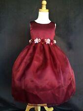 Flower Girl Bridesmaids Easter Elegant Toddler Girl Pageant Recital Dress #35