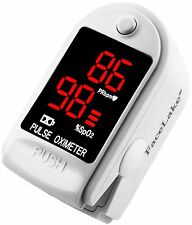 Pulse Oximeter Fingertip CMS50DL / FL400 Blood Oxygen SpO2 Monitor FDA - White
