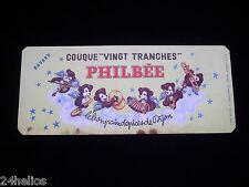 Buvard publicitaire Ancien Pain d'épices PHILBÉE Dijon - Couque /Protége Cahier