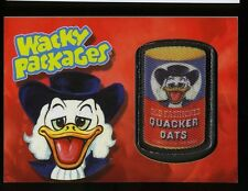 2013 Topps Wacky Packages Series 11 Patch Card ~ Quacker Oats