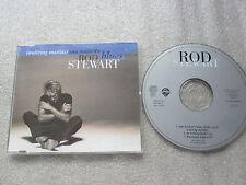 CD-ROD STEWART-TOM TRAUBERT'S BLUES-WALTZING MATILDA-(CD SINGLE)-3TRACK-MAXI CD