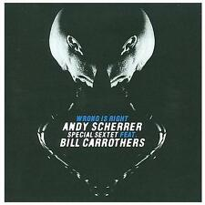 1 CENT CD Wrong Is Right - Andy Scherrer feat. Bill Carrothers SEALED/JAZZ