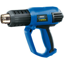 HEAVY DUTY DRAPER 2000W HOT AIR HEAT GUN WALLPAPER STRIPPER 3 SETTINGS & TOOLS